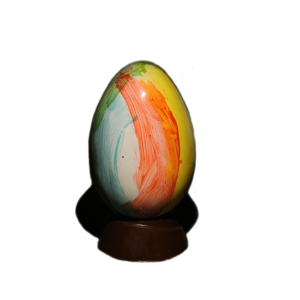filled chocolate egg
