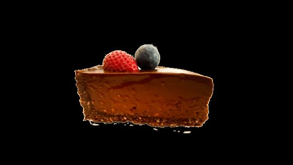 vegan cake slice